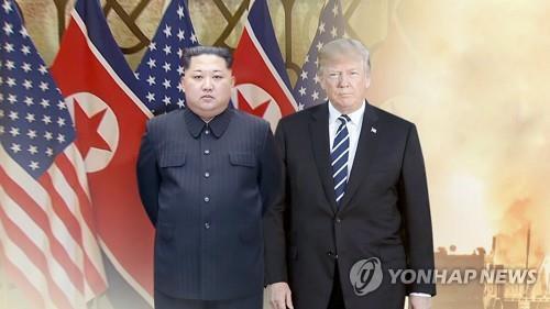 김정은 북한 국무위원장과 도널드 트럼프 미국 대통령(CG) [연합뉴스TV 제공, 재판매 및 DB 금지]