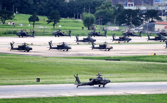 한미 군 당국이 오는 16일부터 28일까지 예년보다 축소된 규모로 후반기 연합훈련을 하는 것으로 전해졌다. 연합뉴스