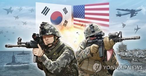 한미연합훈련(PG)  [장현경 제작] 사진합성·일러스트