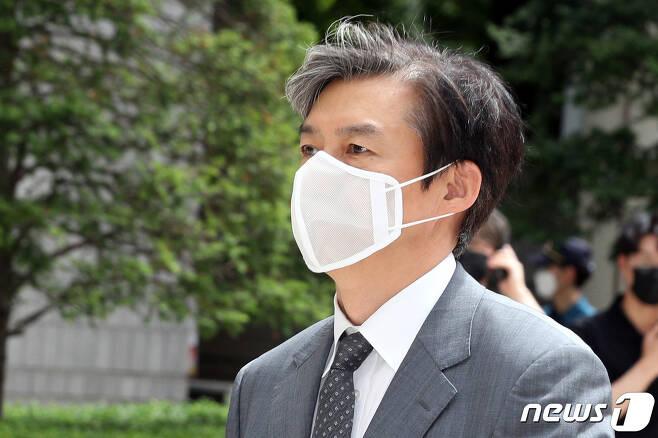 조국 전 법무부 장관/뉴스1 © News1 황기선 기자