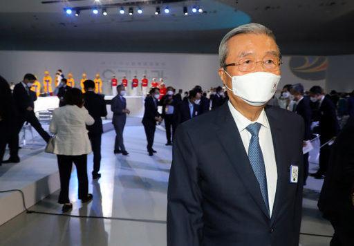 김종인 미래통합당 비상대책위원장이 15일 서울 중구 동대문디자인플라자에서 열린 제75주년 광복절 경축식 행사를 마친 뒤 자리를 뜨고 있다. 뉴시스