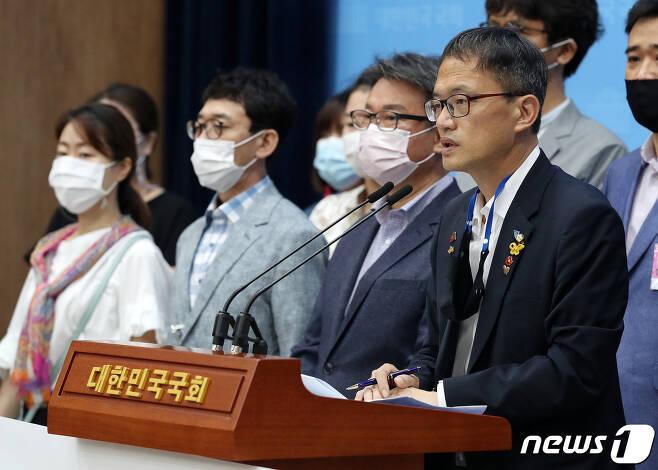 박주민 더불어민주당 당 대표 후보. 2020.8.18/뉴스1 © News1 박세연 기자