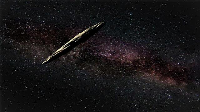 오우무아무아 상상도(©Joy Pollard, The International Gemini Observatory/NOIRLab/NSF/AURA)