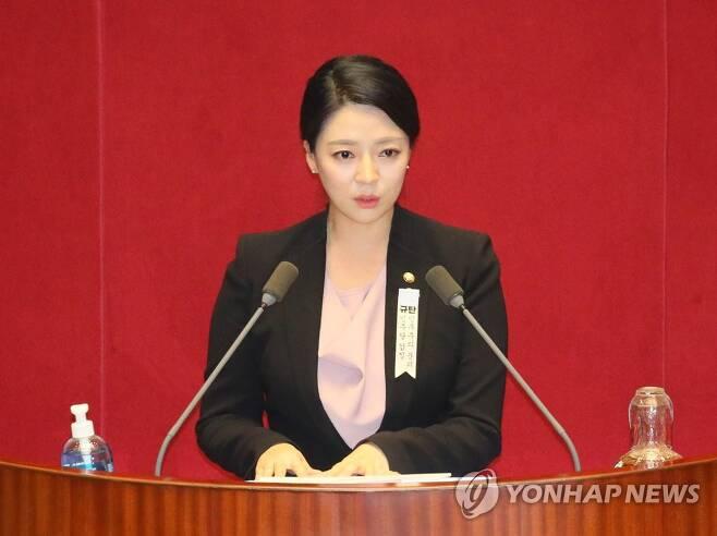 미래통합당 배현진 원내대변인 [연합뉴스 자료사진]