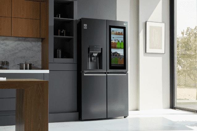 LG 인스타뷰 냉장고의 연출 사진 (사진=LG전자)