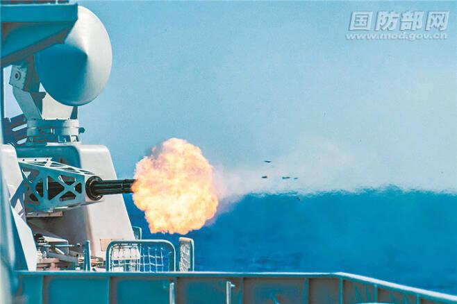 사진 중국 국방부 홈페이지