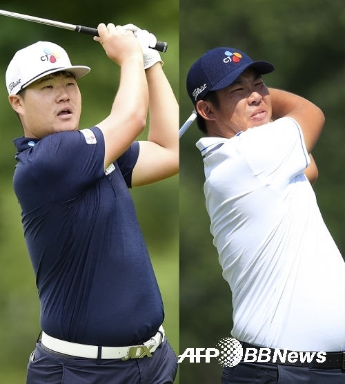 미국프로골프(PGA) 투어 페덱스컵 플레이오프 최종전인 투어챔피언십에 진출하는 임성재 프로. 그리고 불발된 안병훈 프로. 사진제공=ⓒAFPBBNews = News1