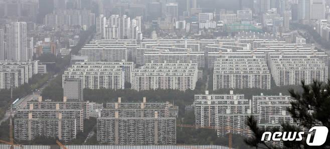 서울 아파트 단지의 모습.© News1 황기선 기자