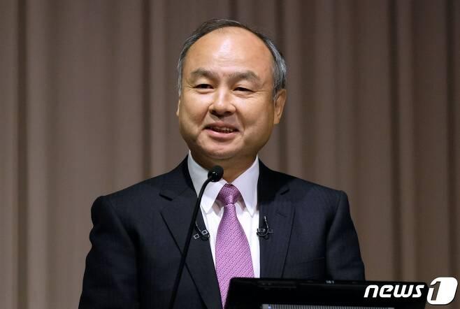 소프트뱅크의 손정의(일본명:마사요시 손)회장 © AFP=뉴스1