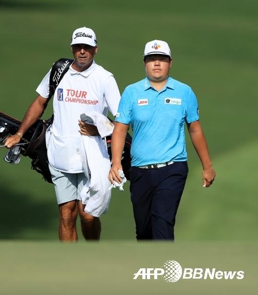미국 조지아주 애틀랜타의 이스트 레이크 골프클럽에서 열린 미국프로골프(PGA) 투어 2019-2020시즌 페덱스컵 플레이오프 최종전 투어챔피언십에 출전한 임성재 프로. 사진제공=ⓒAFPBBNews = News1