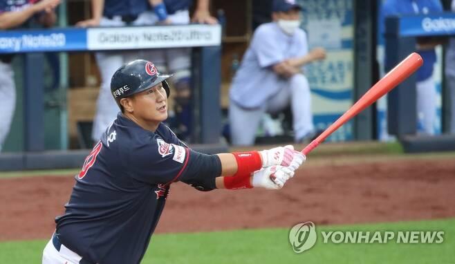 이대호 '만루홈런' [연합뉴스 자료사진]