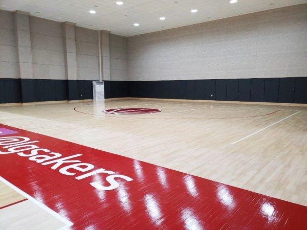 창원 LG가 창원체육관 지하 1층에 마련한 전용 훈련장. 사진제공 | 창원 LG