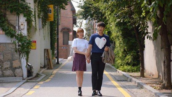 주말드라마 '한번 다녀왔습니다'의 '다재커플' 이초희(왼쪽)와 이상이. [사진 KBS]