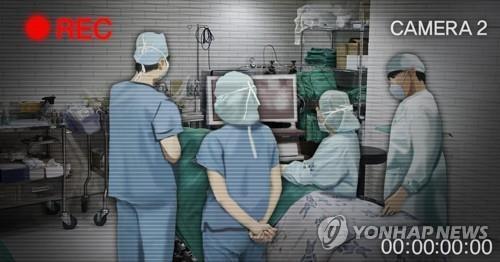 수술실 CCTV 설치 [연합뉴스 자료사진]