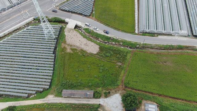 지난해 2월 거창군의회 의원이 매입한 땅