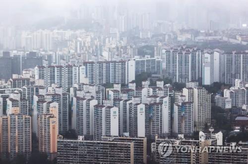 서울 용산 마포구 일대 아파트촌 [연합뉴스 자료사진]