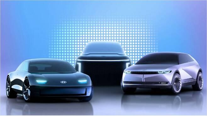 현대차, 전용 전기차 브랜드 '아이오닉(IONIQ)' (사진=연합뉴스)