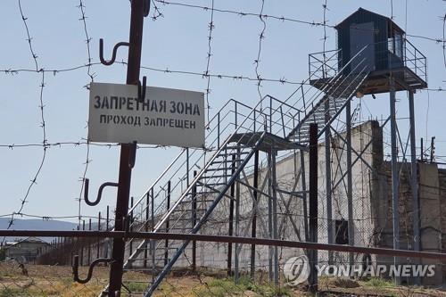 수감자 6명이 탈옥한 러시아 다게스탄 공화국의 한 교도소. [타스=연합뉴스]