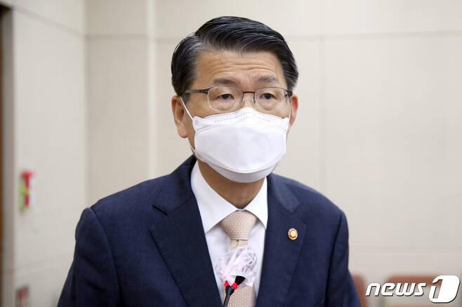 은성수 금융위원장. 2020.9.21/뉴스1 © News1 성동훈 기자