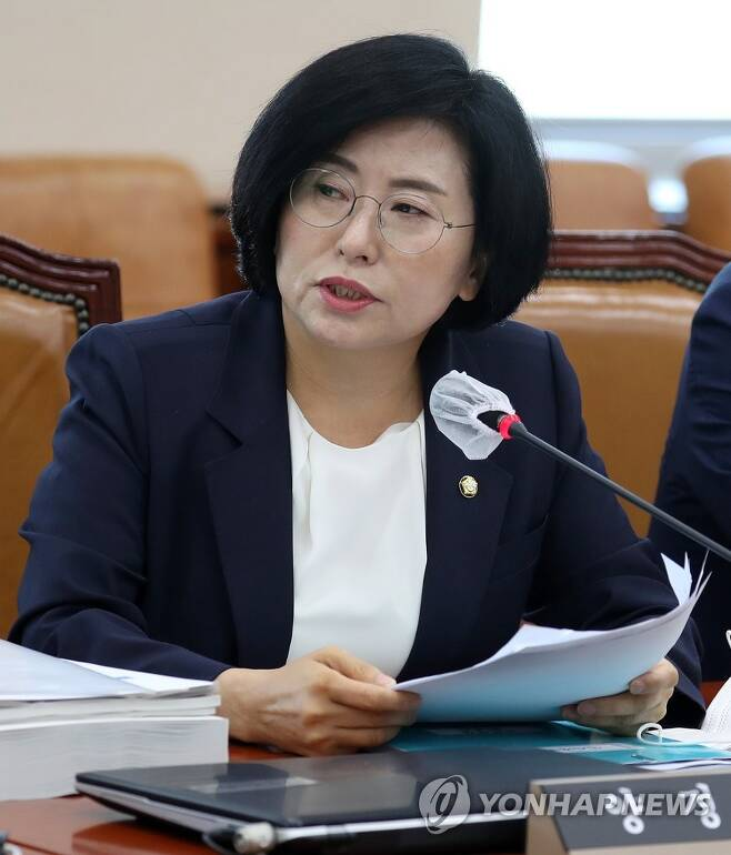 양경숙 의원 [연합뉴스 자료사진]