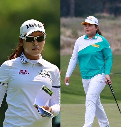 2020년 미국여자프로골프(LPGA) 투어 숍라이트 LPGA 클래식 골프대회에 출전한 이미향 프로(사진제공=Gabe Roux/LPGA) 박인비(사진제공=Golf Australia)