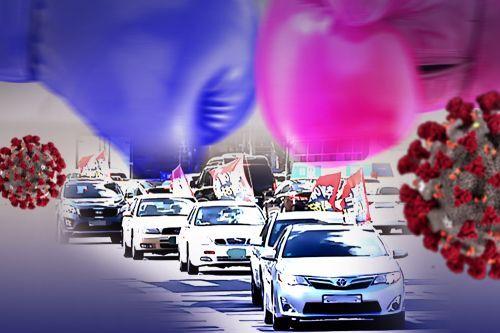 개천절이자 코로나19 전파 우려로 서울 도심 집회가 전면 금지된 3일 서울 광화문광장이 경찰 봉쇄돼 있다.  뉴시스