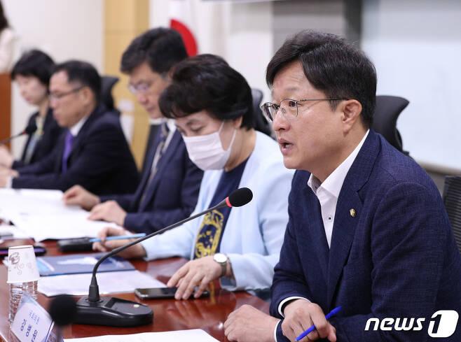 강병원 더불어민주당 의원. 2020.8.10/뉴스1 © News1 신웅수 기자