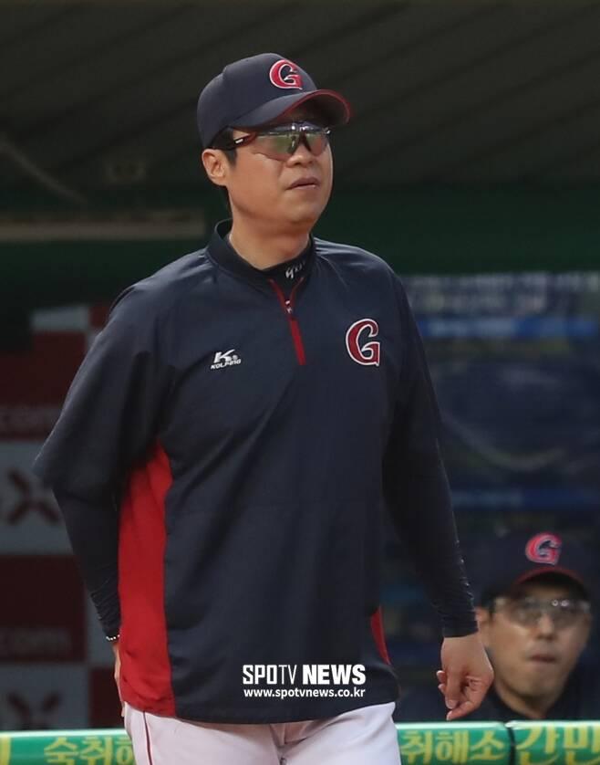 ▲ 허문회 감독 ⓒ한희재 기자