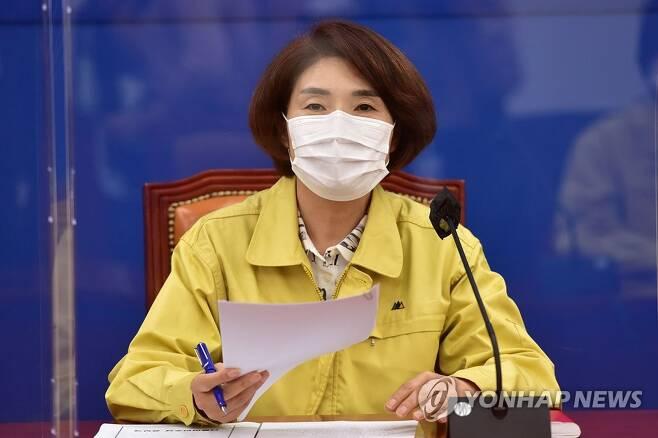 더불어민주당 한정애 의원 [연합뉴스 자료사진]
