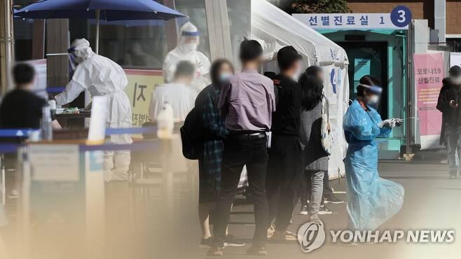코로나19 검사 (CG) [연합뉴스TV 제공. 재판매 및 DB 금지]