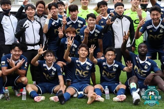 최근 2년 연속 K리그2 꼴찌에 머물렀던 서울 이랜드가 3위까지 비상했다. (한국프로축구연맹 제공) © 뉴스1