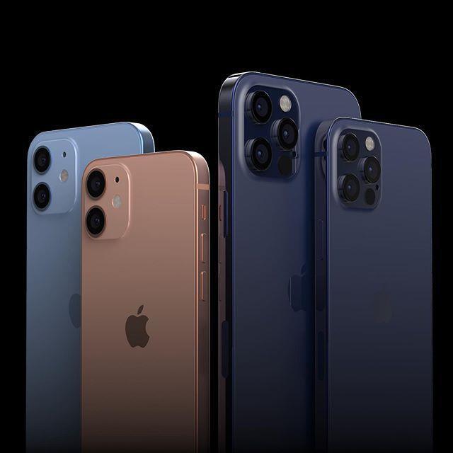 애플의 2020년형 플래그십 스마트폰인 '아이폰12 시리즈' 추정 이미지.에브리씽애플프로 캡처
