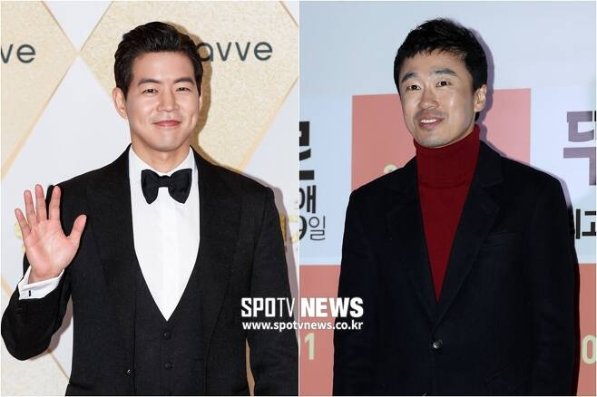 ▲ '갬성캠핑'에 출연하는 이상윤(왼쪽)과 조달환. ⓒ한희재 기자 ⓒ곽혜미 기자