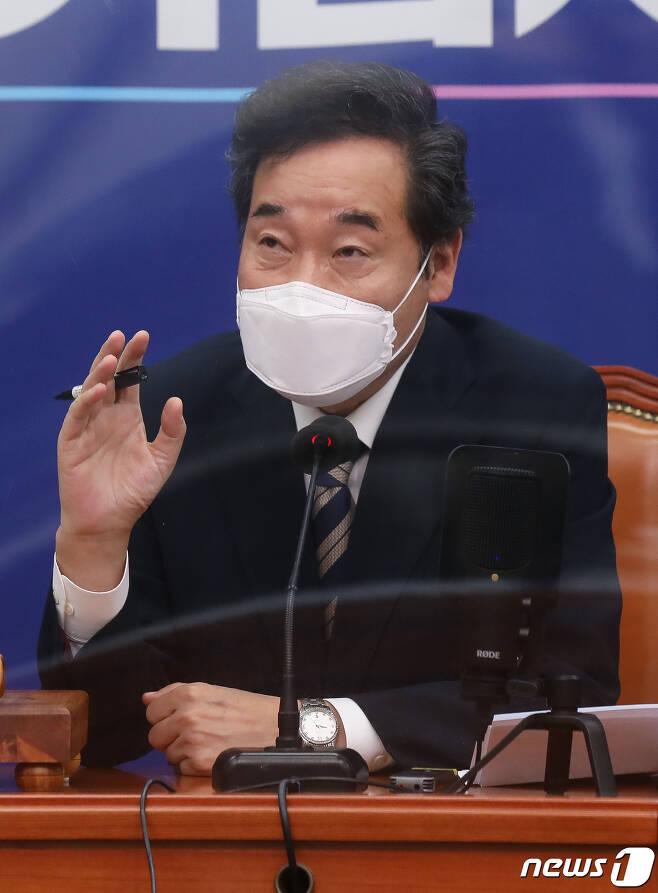 이낙연 더불어민주당 대표. . 2020.10.14/뉴스1 © News1 신웅수 기자