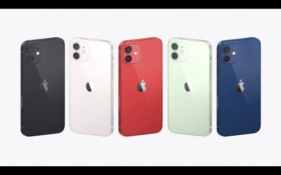 애플이 13일(현지시간) 아이폰12 시리즈를 공개했다.(사진출처=연합뉴스)