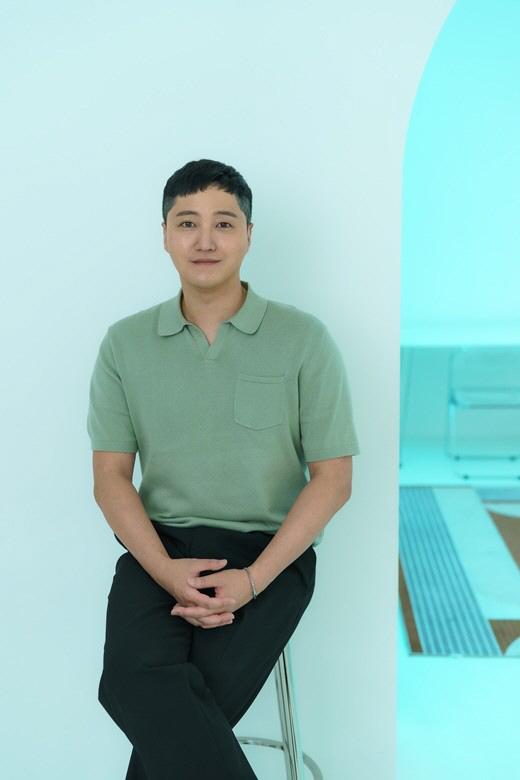 김대명은 연말 촬영 예정인 '슬의생' 질문에 미소로 말을 아꼈다. 제공 리틀빅픽처스