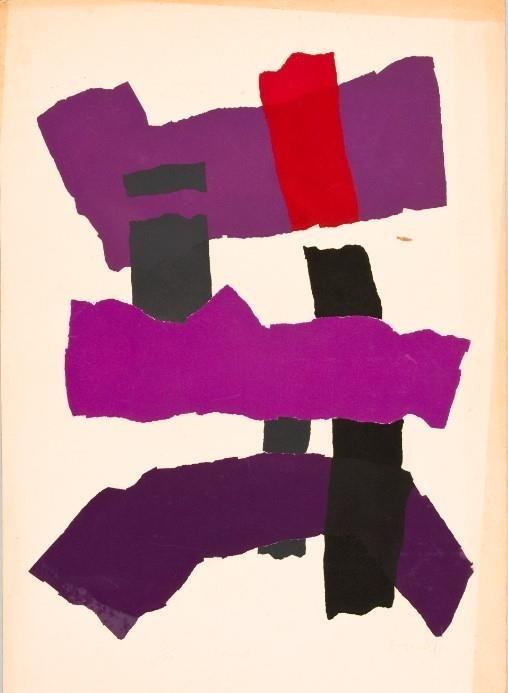유강열, 작품, 실크스크린, 1968, 76x54.5cm [국립현대미술관 제공. 재판매 및 DB 금지]