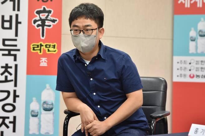 홍기표 9단 [한국기원 제공. 재판매 및 DB 금지] photo@yna.co.kr