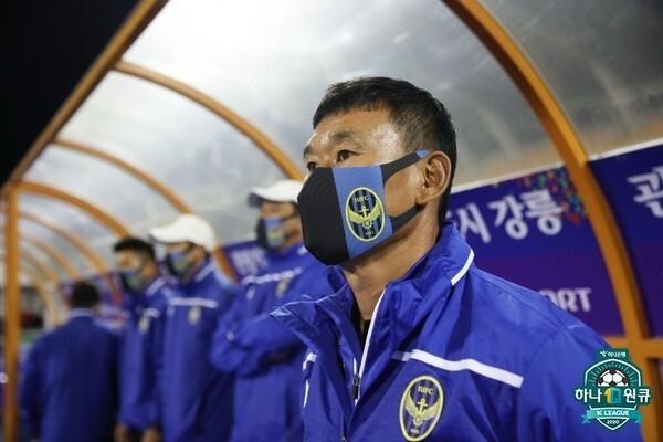 조성환 감독(인천유나이티드). 한국프로축구연맹