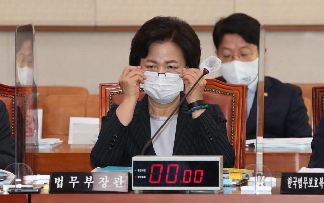 추미애 법무부 장관. /연합뉴스