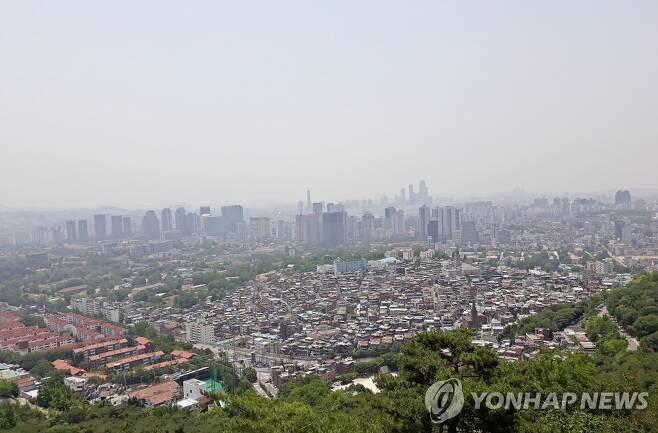 용산구 후암동 해방촌 전경 [연합뉴스 자료사진]