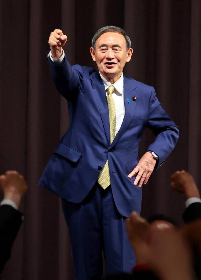 스가요시히데 일본 총리 (사진=AFPBB)