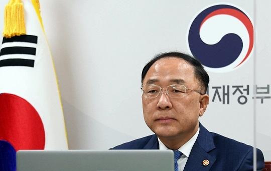 홍남기 경제부총리. 연합뉴스