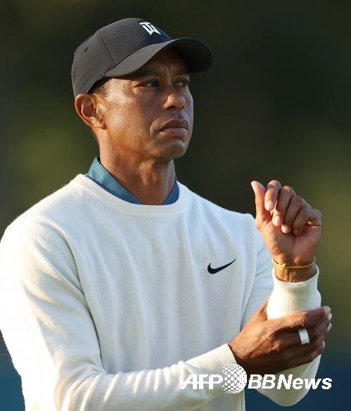 2020년 미국프로골프(PGA) 투어 조조 챔피언십 타이틀 방어에 나서는 타이거 우즈. 사진제공=ⓒAFPBBNews = News1
