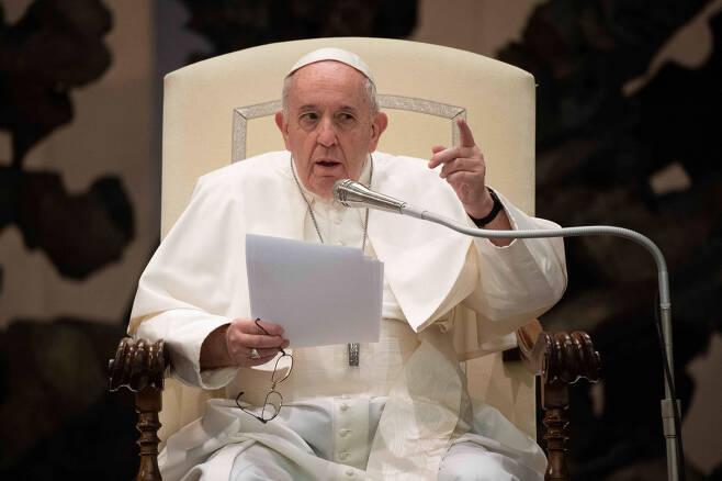 프란치스코 교황. [EPA]