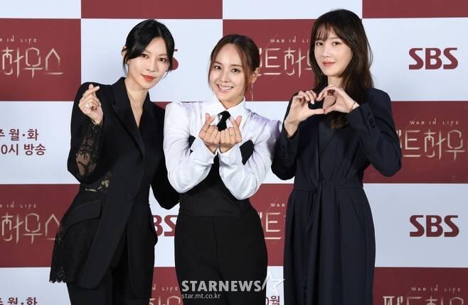 김소연-유진-이지아 '펜트하우스 미녀들'[★포토]