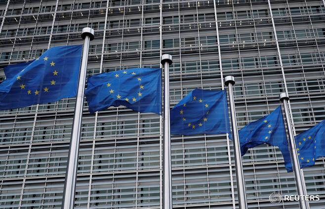 벨기에 브뤼셀에 위치한 유럽연합(EU) 집행위원회 본부.©로이터=News1