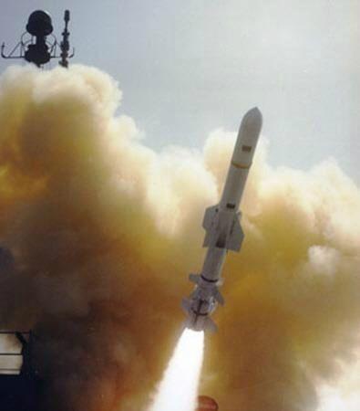 하푼 블록Ⅱ 대함미사일. (사진=연합뉴스)
