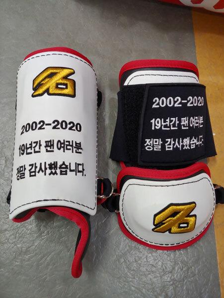 LG 박용택의 커리어는 올해 포스트시즌을 끝으로 마무리 된다. 박용택은 올 가을, 조금 특별한 보호장비를 착용한다. 사진제공|LG 트윈스