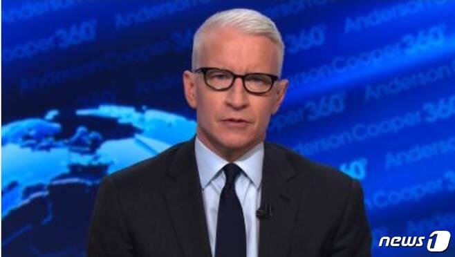 CNN의 유명 앵커 앤더슨 쿠퍼. © 뉴스1